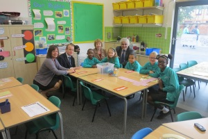 New classroom at Gorringe Park Primary