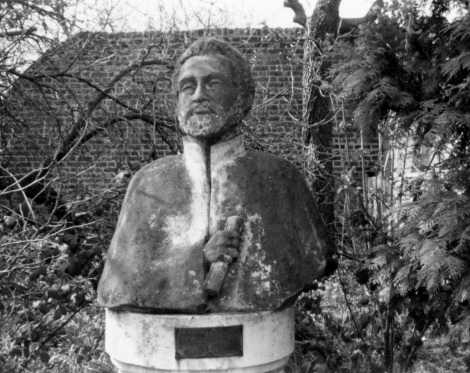 The Haile Selassie statue in Cannizaro Park