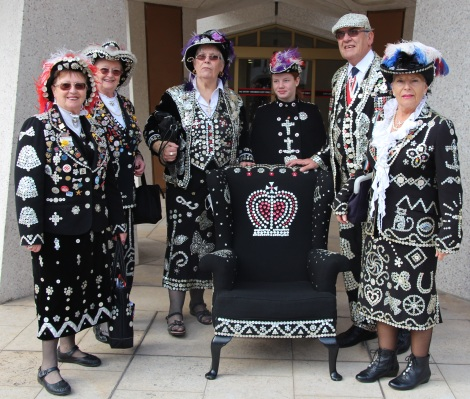 Pearly Kings and Queens - photos taken by Eloise Dethier-Eaton
