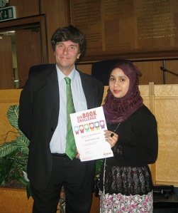 Councillor Nick Draper presented certificates to everyone who completed the challenge last year at an awards ceremony