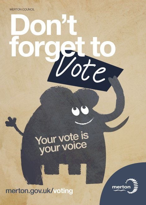 Vote posters - Don_t forget to vote