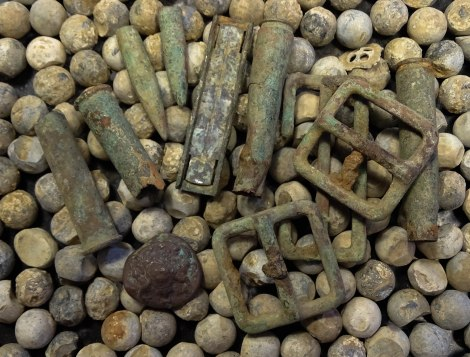 Shrapnel from the Somme