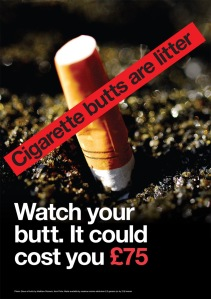 68.3_Cigarette_butt_litter_posters