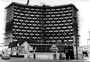 Photo of Morden's civic centre from the Merton Memories archive