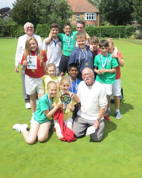 Winning school, Wimbledon Park Primary.