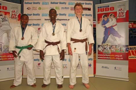 Judo gold