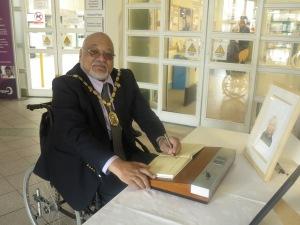 Mayor of Merton Councillor David Chung