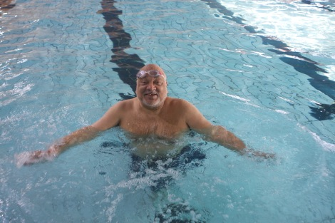 Mayor of Merton, Cllr David Chung takes to the water to raise money for his charities