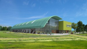 Impression of Morden Leisure Centre
