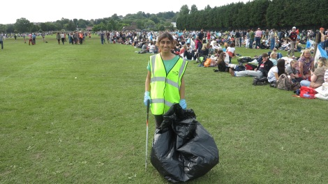 Agency litter picker Keenal Majithia, 20,.JPG