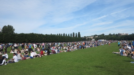 Wimbledon Park queue 2