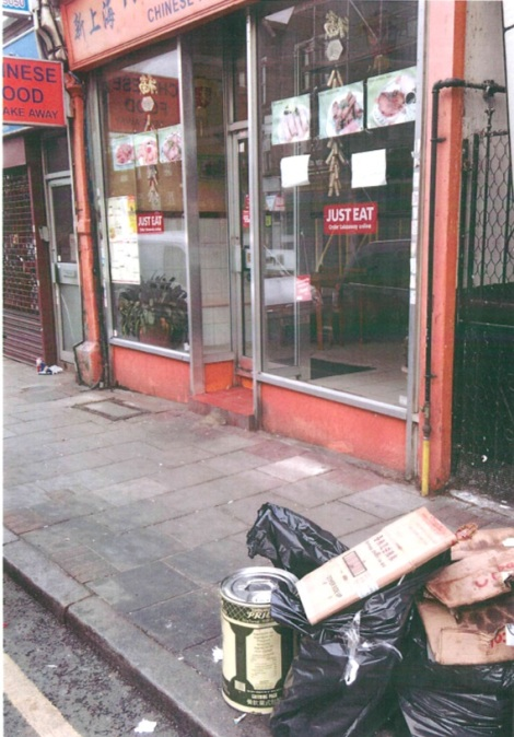Fly tip offence 1 New Shanghai Mr Chen
