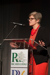 Head teacher of Ricards Lodge Alison Jerrard