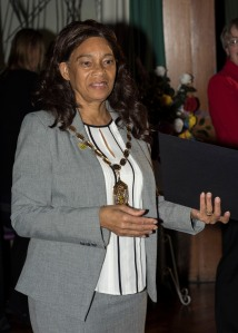 Mayor of Merton Cllr Brenda Fraser presented the certificates at the ceremony