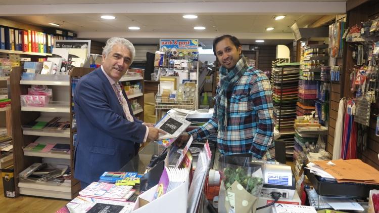 stephen-alambritis-and-guamit-saini-south-london-printers-small-business-saturday