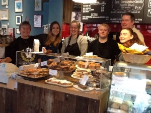 The Coffee in the Wood team