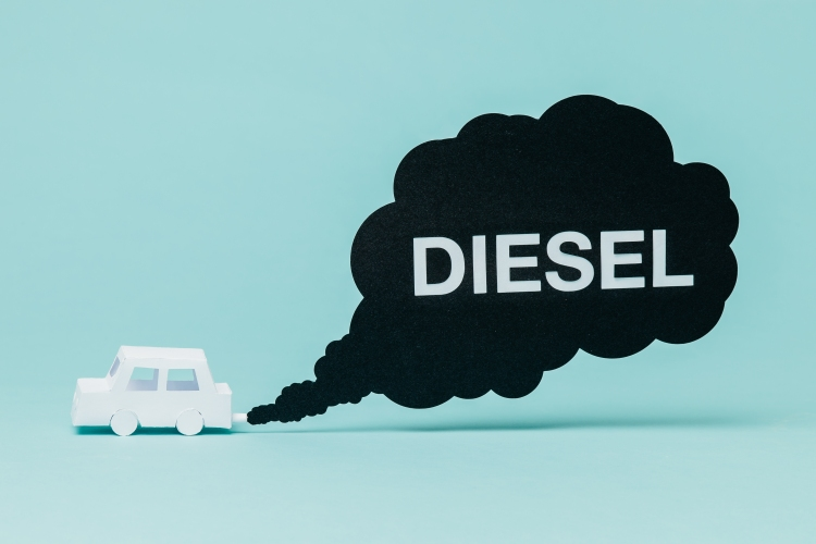Diesel car pollution