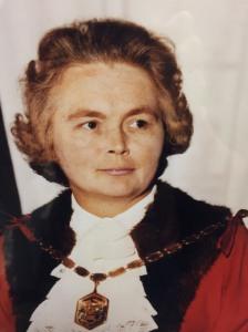 Councillor Vera Maud Bonner, Mayor of Merton 1973-1974