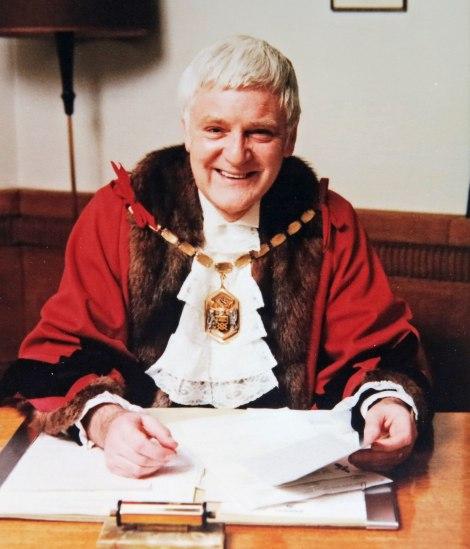 Ron Haddow, Mayor of Merton 1979-1980