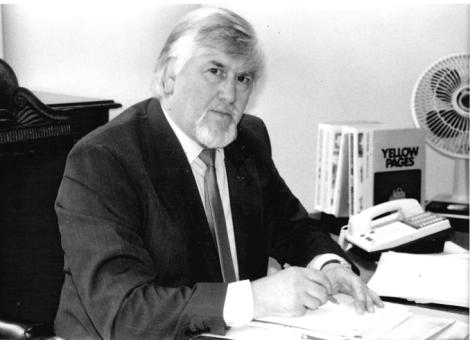 Councillor Geoffrey Smith in 1990