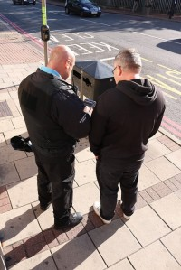 Enforcing against litter louts