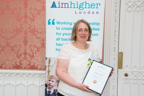 AIMHIGHERAWARDS2018 tracey lewis
