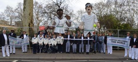 London New Year's Day Parade Merton Team
