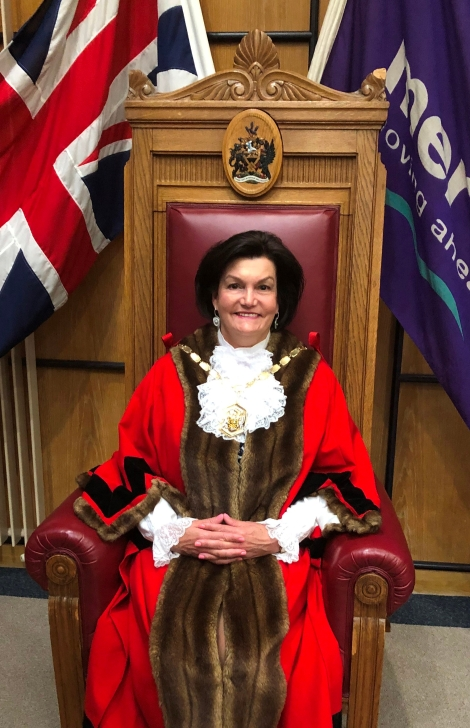 Mayor of Merton, Councillor Janice Howard