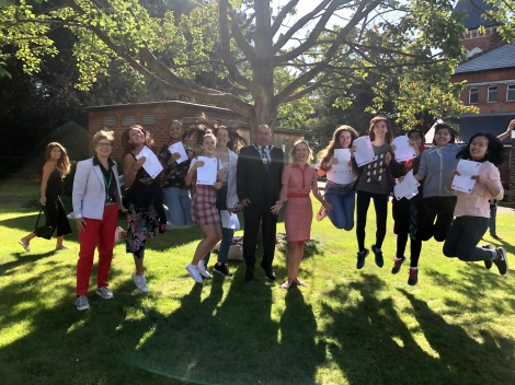 Ricards Lodge High School GCSE Results Day 2019 - 7