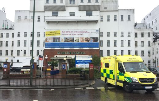 Image of St Helier Hospital