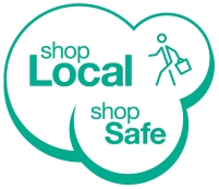 Shop Local Shop Safe logo